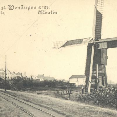 Wenduine: moulin