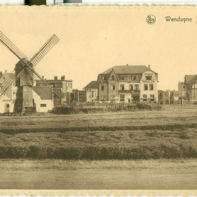 Wenduine: le Quartier du moulin