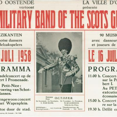 The Military Band of the Scots Guards